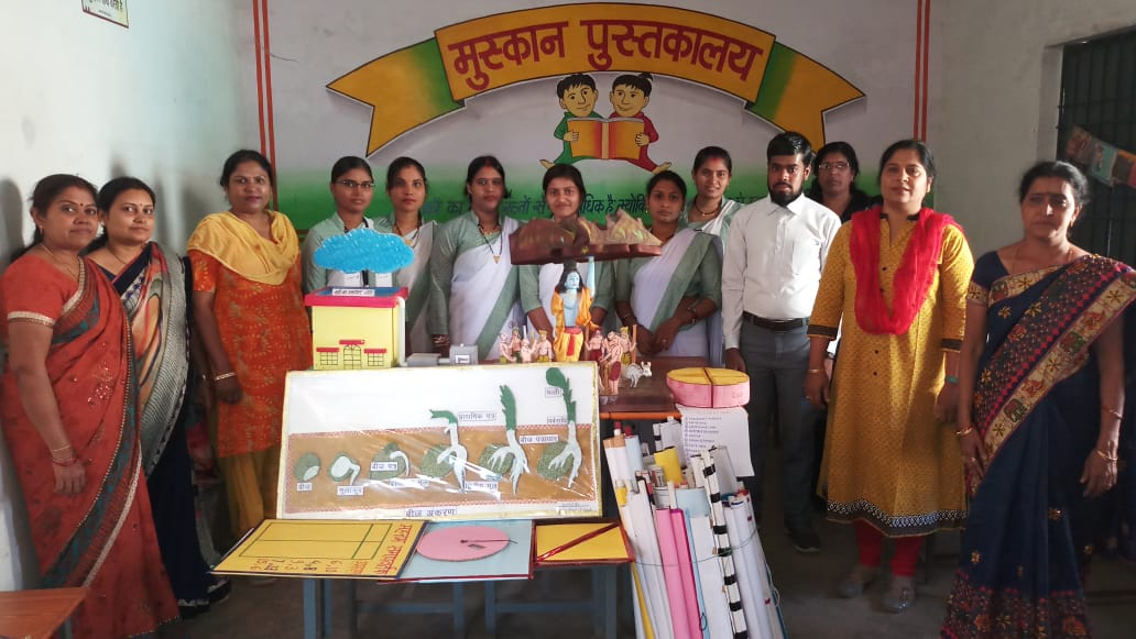 TEACHING AIDS DONATION PREPARED BY BHILAI MAITRI COLLEGE RISALI STUDENTS